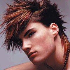 Mens Faux-Hawk Haircut Photos