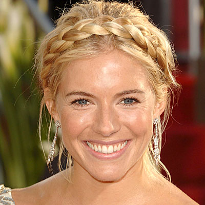 Sienna Miller Vintage Hairstyle Picture
