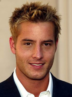 Justin Hartley Messy Spiky Hairstyle Pictures