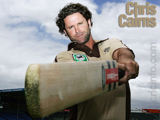 Chris Cairns Curly Hairstyle