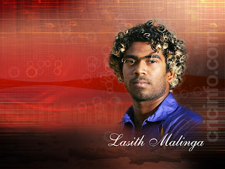 Lasith Malinga Curly Hairstyle