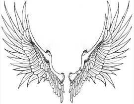 New Wings Design for tattoo - Wings Tattoo Design Ideas