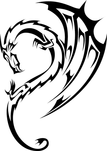 Guns Tattoo Concept: Dragon Designs For Tattoos - Dragon Tattoo Ideas