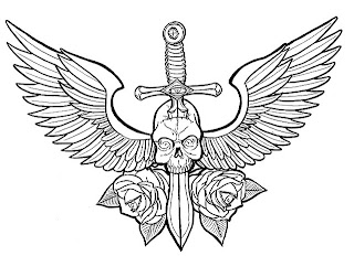 Winged Skulls For Tattoos - Skull with Wings Tattoo Ideas