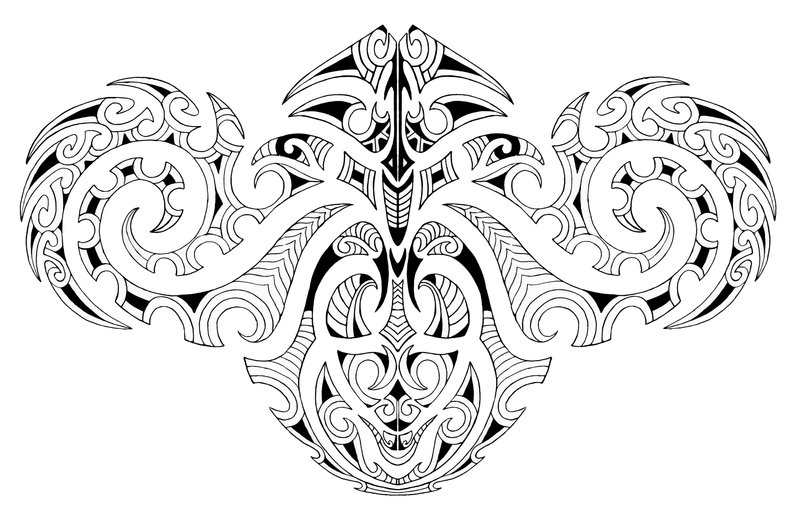 New Sketches For Maori Tattoo - Maori Tattoo Design Ideas