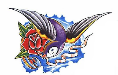 blue bird tattoos swallows. part 3 (Lenya Love) Tags: blue bird tattoo star