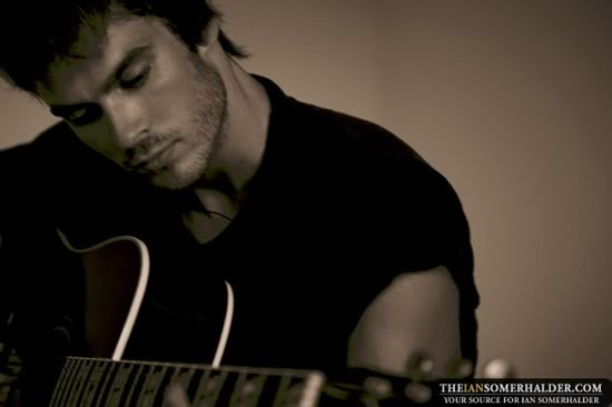 In case you haven't noticed, I've got quite the crush on Ian Somerhalder.