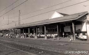 stasiun depok lama 1990