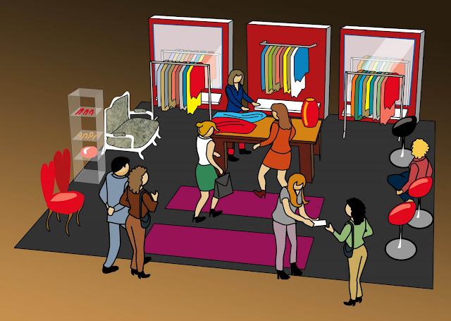 """""""The Cool Experience"""" Showroom en Centro Comercial La Gavia. Visualización."""