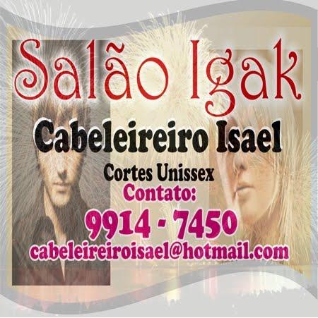 SALÃO  IGAK   CABELEIREIRO ISAEL