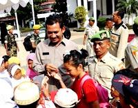 PPM Kota Bogor Berwisata dengan 250 Yatim Piatu dan Dhuafa ke the Jungle