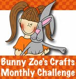 I'm  March guest designer at Bunny Zoe's Crafts