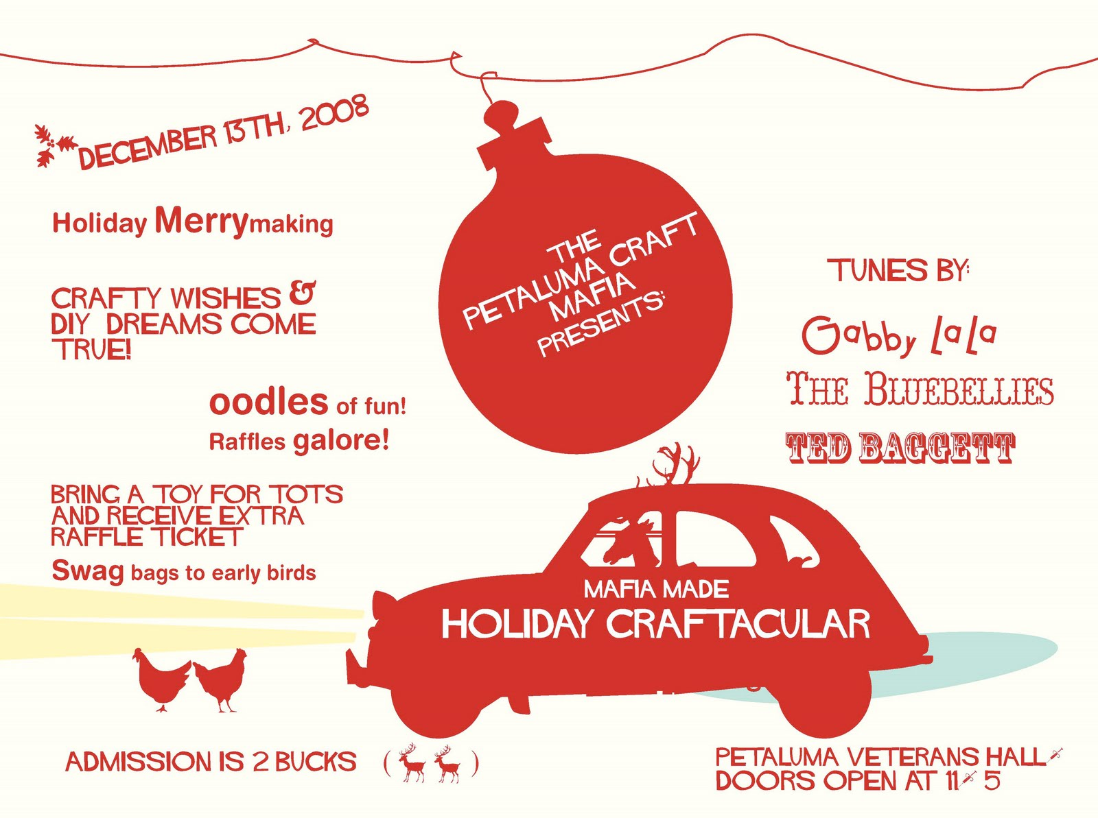 "Mafia Made ""HOLIDAY CRAFTACULAR!"" designed by Moxieville"