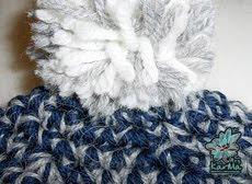 Detalle pompón, lana y acrílico