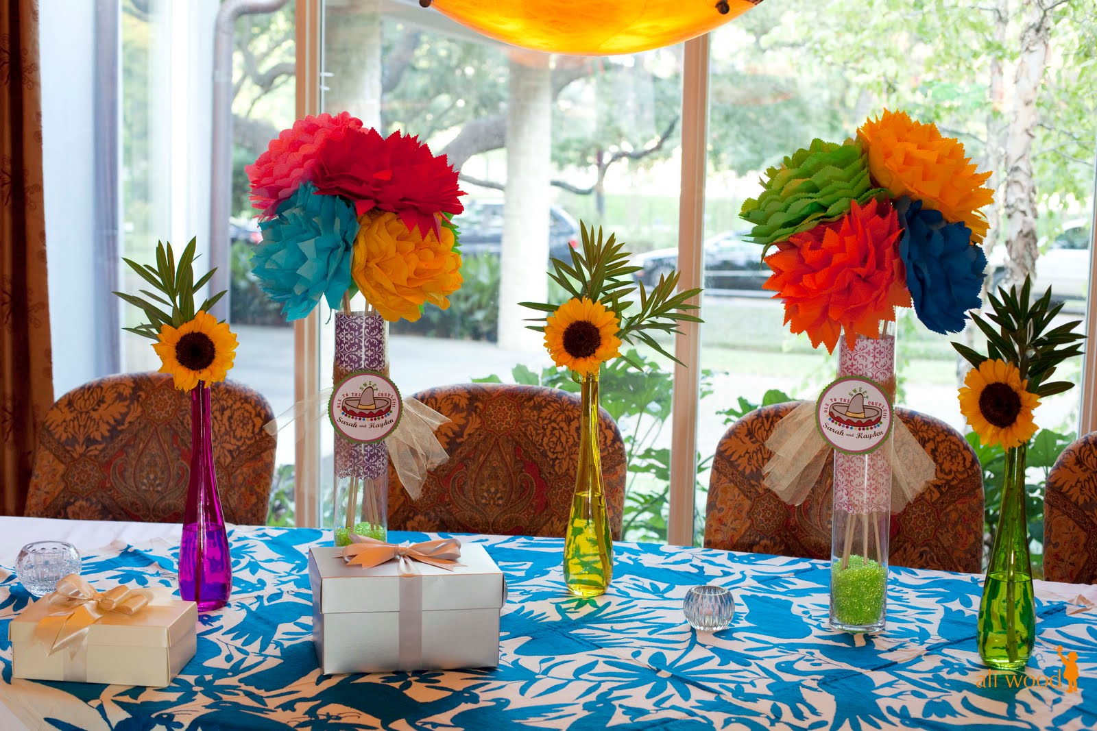 Engagement party fiesta themed engagement party pinterest - S party theme decorations ...