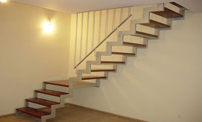 Diseo de escaleras barandas pasamanos de madera review - Escaleras de interiores ...