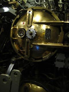 A l'intérieur de l'USS Pamponito