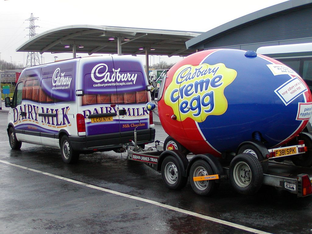 Cadbury Creme Egg Car For Sale