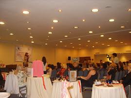 salón del hotel Pestana evento de aniversário de mujeres fecoba