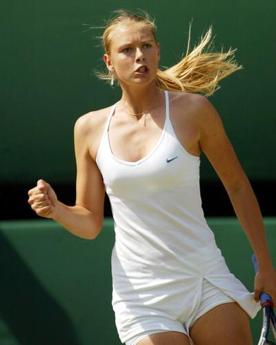 The Beautiful Tennis Ace : Maria Sharapova