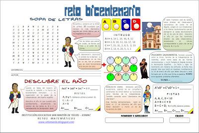 Bicentenario, Historia de Colombia, Retos Matemáticos, El Bicentenario y las matemáticas, Las matemáticas y la Historia de Colombia