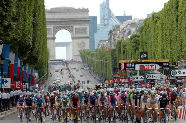 Tour De France Champs Elysees Laps