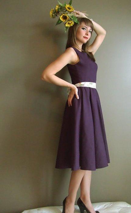 Melissa Baswell :  spring 2009 designer organic dress