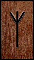 El Stang, origen y usos Runa-algiz