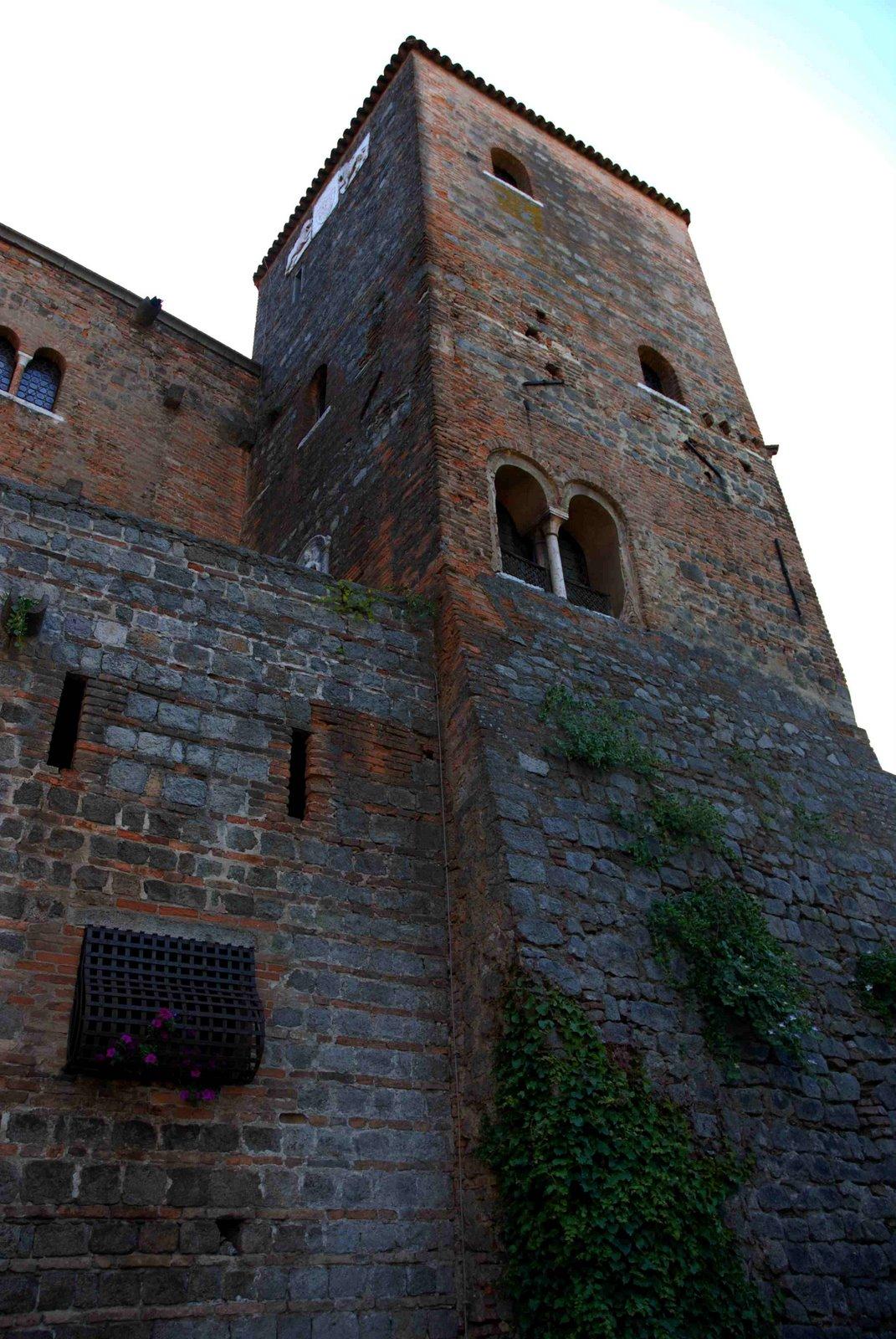 il castello particolare della torre