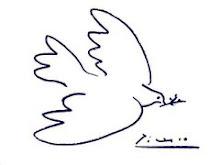 una colomba per la pace
