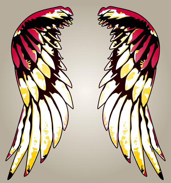 clip art angel wings. clip art angel wings