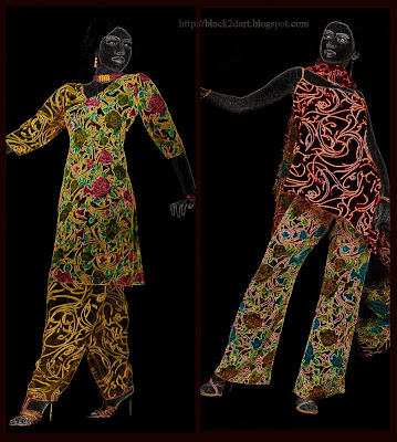 Printed Salwar Kameez Dress