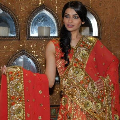 Prachi Desai Unveils a Bridal Collection