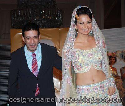 Kangana Ranaut walks the ramp in Bridal dress