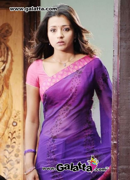 trisha in saree � Make Money