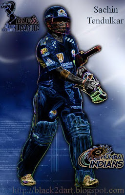 Sachin Tendulkar - Mumbai Indians (IPL 2010)