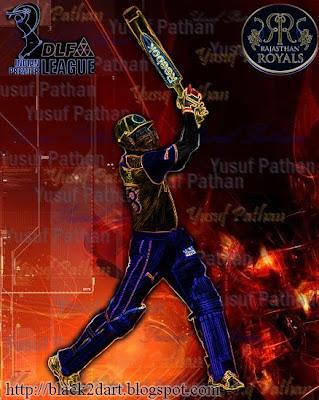 Yusuf Pathan Rajasthan Royals IPL 2010
