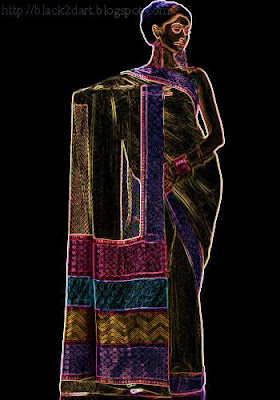 designer wear-silk saree