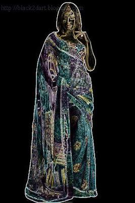 printed sesigner sari image