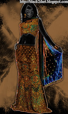 Indian bridal wear ghagra choli