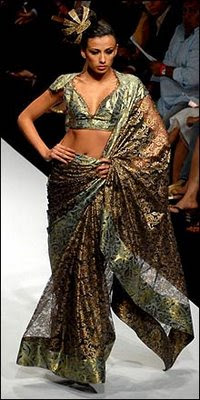 Designer Saree-Lakme Fashion Week 2009