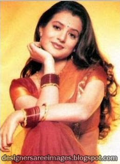 Amisha Patel in Bollywood Saree Photo