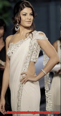 Jacqueline Fernandez in Designer Manav Gangwani Saree