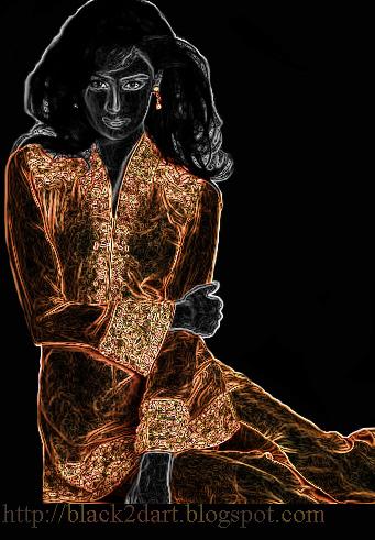 Create a glowing-edges effect - lynda.com