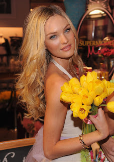 Hot Candice Swanepoel pics from Victoria's Secret Heavenly Flowers Fragrance Launch