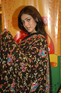 Actress Parvati Melton in Saree Photo Gallery