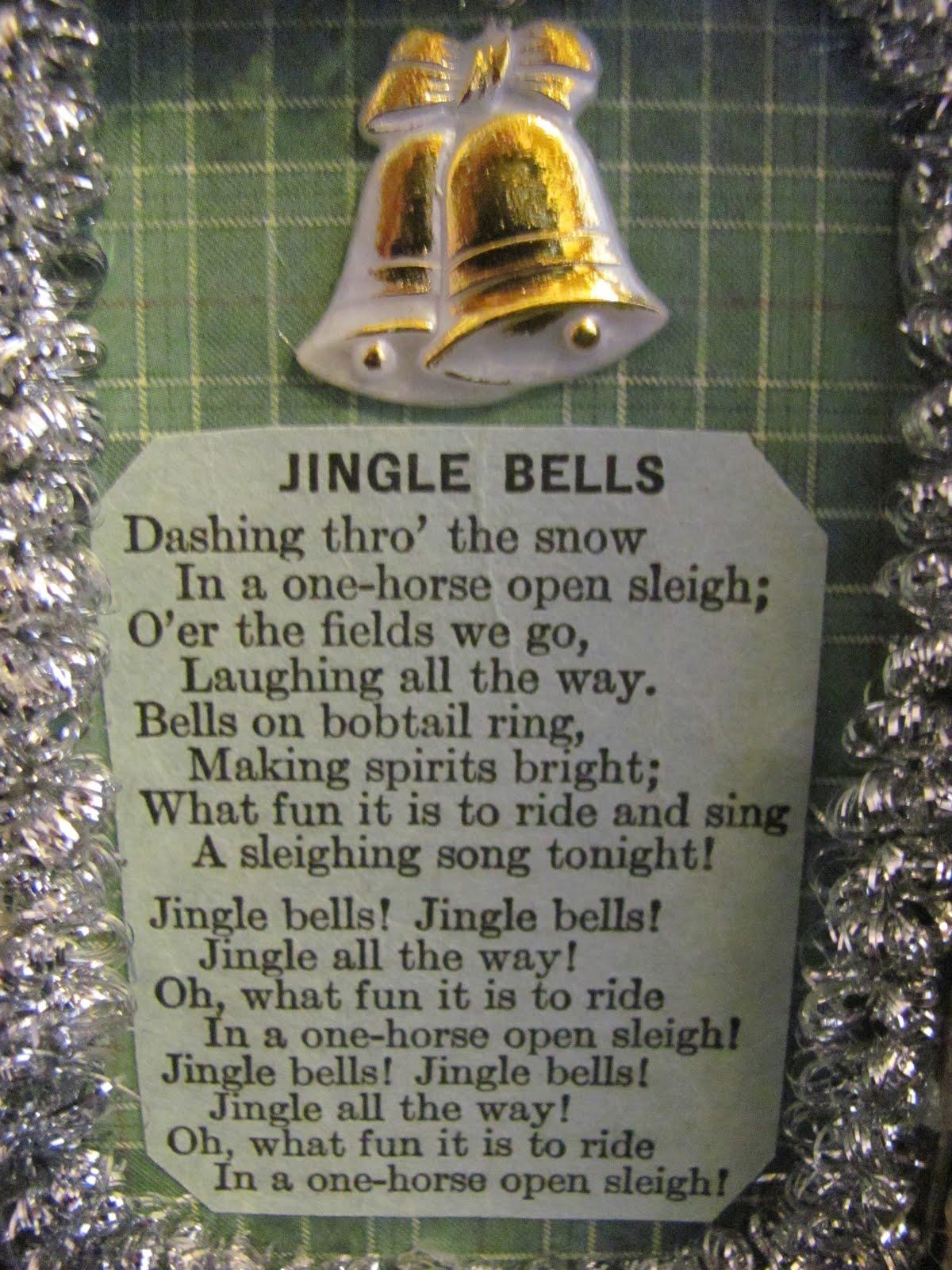"... Christmas Sheet Music Jingle Bells Next, i cut out ""jingle bells"