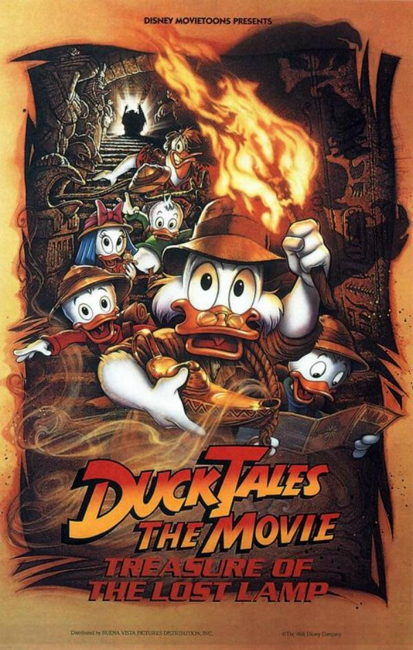 animated movies ducktales the movie treasure of the lost