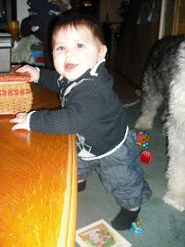 Kaiden at 6 1/2 months