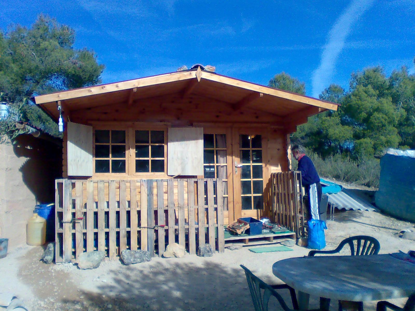 Aventuras en la palma d ebre trabajos con madera - Casas especiales ...